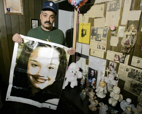 Felix DeJesus, father of Gina DeJesus - Tony Dejak - AP Photo